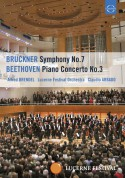 Alfred Brendel, Lucerne Festival Orchestra, Claudio Abbado: Beethoven: Piano Concerto No. 3 / Bruckner: Symphony No. 7 (Ntsc) - DVD