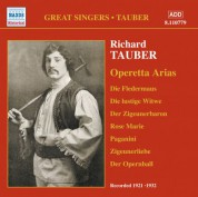 Tauber, Richard: Operetta Arias (1921-1932) - CD