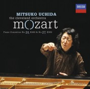The Cleveland Orchestra, Mitsuko Uchida: Mozart: Piano Concertos No.20 İn D Minor, K.466 & No.27 İn B Flat, K.595 - CD