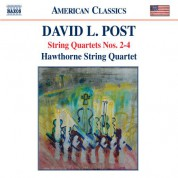 Hawthorne String Quartet: Post: String Quartets Nos. 2-4 - CD