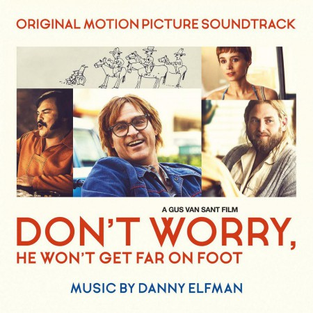 Danny Elfman: Don't Worry, He Won't Get Far On Foot (Limited Numbered Edition - Orange Vinyl) - Plak
