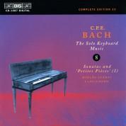 Miklós Spányi: C.P.E. Bach: Solo Keyboard Music, Vol. 8 - CD