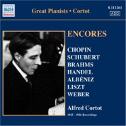 Alfred Cortot: Cortot, Alfred: Encores - 78 Rpm Recordings (1925-26) - CD