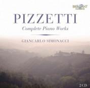 Giancarlo Simonacci: Pizzetti: Complete Piano Works - CD