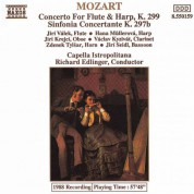 Mozart: Concerto for Flute and Harp / Sinfonia Concertante - CD