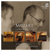 Andreas Staier, Christine Schornsheim: Mozart: am Stein vis-à-vis - CD