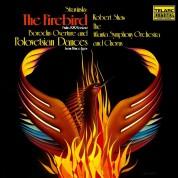 Robert Shaw, Atlanta Symphony Orchestra: Stravinsky, Borodin: Firebird Suite, Polovtsian Dances - Plak