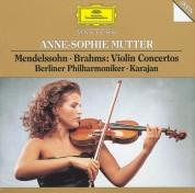Anne-Sophie Mutter, Berliner Philharmoniker, Herbert von Karajan: Mendelssohn/ Brahms: Violin Concertos - CD