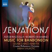Cesare Chiacchiaretta, Croatian Philharmonic Orchestra, Miran Vaupotić: Sensations: Music for Bandoneon - CD