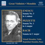 Bach, J.S. / Enescu / Pizzetti: Violin Sonatas (Menuhin) (1929, 1936, 1938) - CD