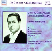 Bjorling, Jussi / Bjorling, Anna-Lisa: Arias and Duets (1949) - CD