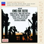 Academy of St. Martin in the Fields, Sir Thomas Allen, Francisco Araiza, José van Dam, Sir Neville Marriner, Karita Mattila, Anne Sofie von Otter, Elzbieta Szmytka: Mozart: Cosi Fan Tutte - CD