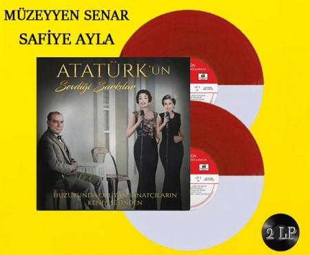 Müzeyyen Senar, Safiye Ayla: Atatürk'ün Sevdiği Şarkılar (Kırmızı Beyaz Renkli Plak) - Plak