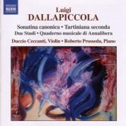 Duccio Ceccanti, Roberto Prosseda: Dallapiccola: Sonatina Canonica - Tartiniana Seconda - CD