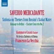 Francesco La Vecchia, Rome Symphony Orchestra: Mercadante: Orchestral Works - CD