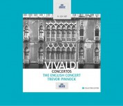 The English Concert, Trevor Pinnock: Vivaldi: Concertos - CD