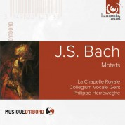 La Chapelle Royale, Collegium Vocale Gent, Philippe Herreweghe: J.S. Bach: Motets BWV 225-230 - CD