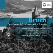 James Conlon: Bruch: Symphonies 1-3 , Concerto for 2 Pianos - CD