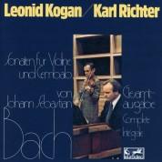 Karl Richter, Leonid Kogan: Bach: Sonaten für Violine & Klavier BWV 1014-1019 - CD