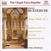Volker Ellenberger: Buxtehude: Organ Music, Vol. 1 - CD