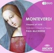 Gabrieli Consort & Players, Paul McCreesh: Monteverdi: 1610 Vespers - CD