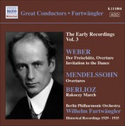 Wilhelm Furtwängler: Weber / Mendelssohn / Berlioz - CD