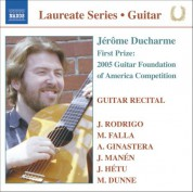 Guitar Recital: Jerome Ducharme - CD