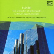 Simon Lindley: Handel: Organ Concertos - CD