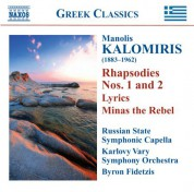 Byron Fidetzis: Kalomiris: Rhapsodies - Symphonic Poems - CD
