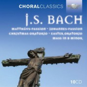 The Choir of King's College Cambridge, The Choir of Jesus College Cambridge, Coro della Radio Svizzera Lugano, Motettenchor Pforzheim: J.S. Bach: Sacred Choral Music - CD