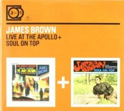 James Brown: Live At The Apollo / Soul On Top - CD
