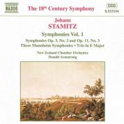 Stamitz, J.: Symphonies, Vol.  1 - CD