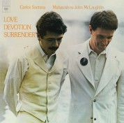 Carlos Santana, John McLaughlin: Love Devotion Surrender - Plak