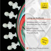 Polnische Kammerphilharmonie, Wojciech Rajski: Beethoven: Symphonies Nos. 1 & 2 - Plak