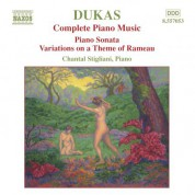 Dukas: Piano Sonata / Variations On A Theme of Rameau - CD