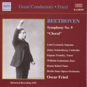 Oskar Fried: Beethoven: Symphony No. 9 (Fried) (1929) - CD