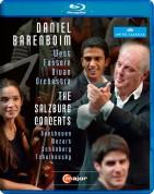 West Eastern Divan Orchhestra, Daniel Barenboim: West Eastern Divan Orchhestra - The Salzburg Concerts (Beethoven, Mozart, Schoenberg, Tchaikovsky) - BluRay