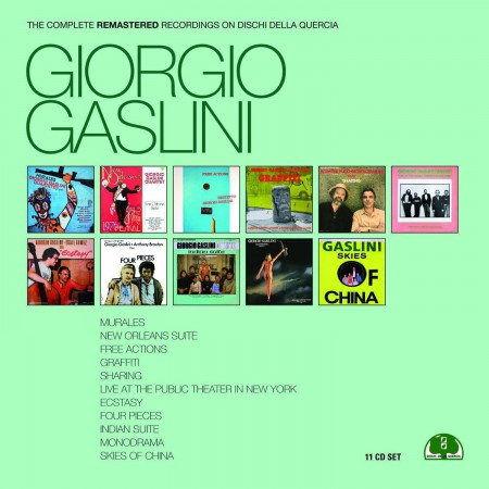 Giorgio Gaslini: The Complete Remastered Recordings on Dischi Quercia - CD