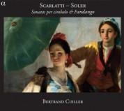 Bertrand Cuiller: Scarlatti: Sonatas per cimbalo & fandango - CD