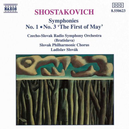 Shostakovich: Symphonies Nos. 1 and 3 - CD