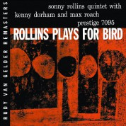 Sonny Rollins: Rollins Plays For Bird - CD