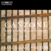 Franz Halász: Canzoni - Italian Music for Guitar - CD