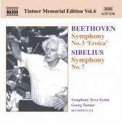 Symphony Nova Scotia: Beethoven: Symphony No. 3 / Sibelius: Symphony No. 7 - CD