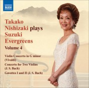 Takako Nishizaki Plays Suzuki Evergreens, Vol. 4 - CD