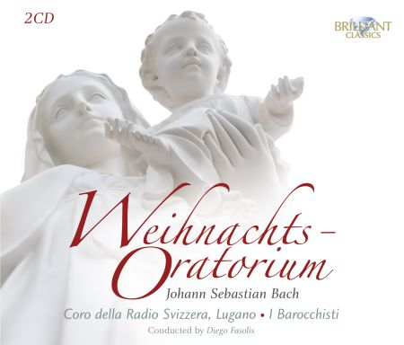 Coro della Radio Svizzera Lugano, I Barocchisti, Diego Fasolis: J.S. Bach: Weihnachts-Oratorium - CD