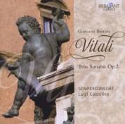 Semperconsort, Luigi Cozzolino: Vitali: Trio Sonatas Op. 2 - CD