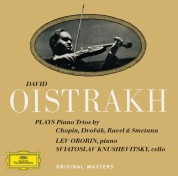 David Oistrakh, Lev Oborin, Sviatoslav Knushevitsky: David Oistrakh - Plays Piano Trios - CD