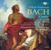 Rheinische Kantorei, Das Kleine Konzert, Hermann Max: W.F. Bach: Cantatas - CD