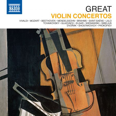 Çeşitli Sanatçılar: Great Violin Concertos - CD