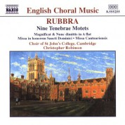 Rubbra: Nine Tenebrae Motets / Magnificat and Nunc Dimittis - CD